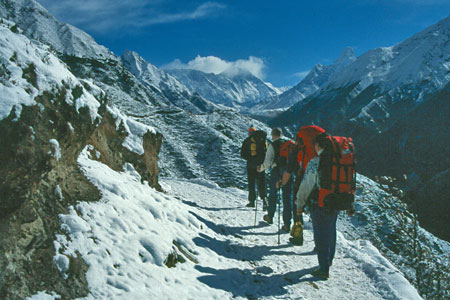 On The Everest Trek